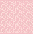 love romantic seamless pattern with pink hearts vector image