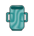 mug cup object vector image