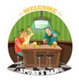 Soccer Pub vector image