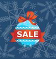 xmas holidays shopping vector image vector image