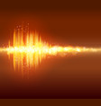 abstract bokeh equalizer background light effect vector image vector image