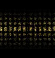 abstract of dark background with small mix sized vector image vector image
