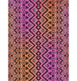 Aztec tribal mexican seamless pattern vector image