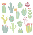 cacti vector image vector image