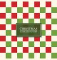christmas seamless colorful tile pattern bright vector image