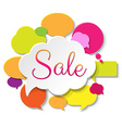 Colorful Sale Poster vector image vector image
