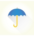 Pencil umbrella vector image