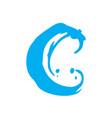 sign letter c vector image