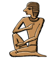 artifact ancient Egypt vector image vector image