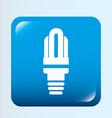 bulb design vector image vector image
