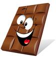 happy chocolate vector image vector image