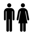 Male female sign vector image vector image