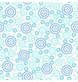sewing seamless pattern with buttons cute vector image