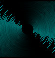 sound wave vector image vector image