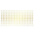 wand magic tool golden halftone grid vector image