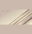 abstract elegant diagonal gold stripes vector image vector image