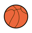 basket ball cartoon vector image