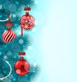 Christmas Lighten Background vector image vector image