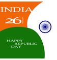 elegant indian flag theme background happy vector image