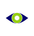 eye care solutions vector image