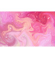 fluid colorful shapes background pink and purple vector image