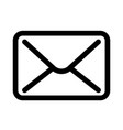 mail envelope icon symbol of e-mail communication vector image vector image