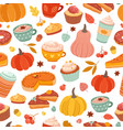 Autumn pumpkin pattern pumpkins spice cinnamon