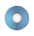 Blue Compact Disc vector image