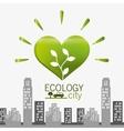 Go green ecology design vector image vector image