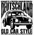 old vintage car vector image vector image