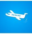 Plane symbol airplane logo vector image vector image