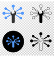 wrench links eps icon with contour version vector image vector image