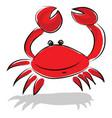 a fresh water creature crayfish generally vector image vector image