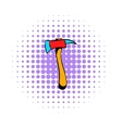 Axe for a firefighter icon comics style vector image vector image