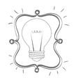 Big idea icon vector image vector image