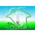 energy saving vector image vector image