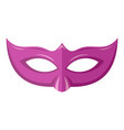 event mask icon flat style vector image vector image