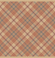 retro check plaid seamless pattern vector image vector image