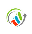 seo logo search engine optimization logo icon vector image vector image