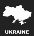 ukraine map icon flat ukraine sign symbol on vector image