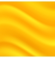 Yellow Wave Background vector image