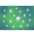 Connecting people - Network concept