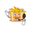 charming banana fruit box cartoon character vector image vector image