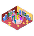 dance song party composition vector image vector image