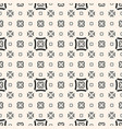 geometric seamless pattern with outline squares vector image vector image