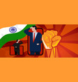 india online celebration independence day vector image