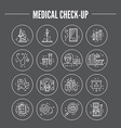 Medical Research vector image vector image