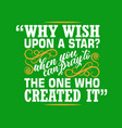 muslim quote and saying good for print design vector image vector image