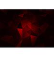 Red Dark vector image vector image