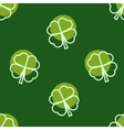 Seamless background for St Patricks Day vector image vector image